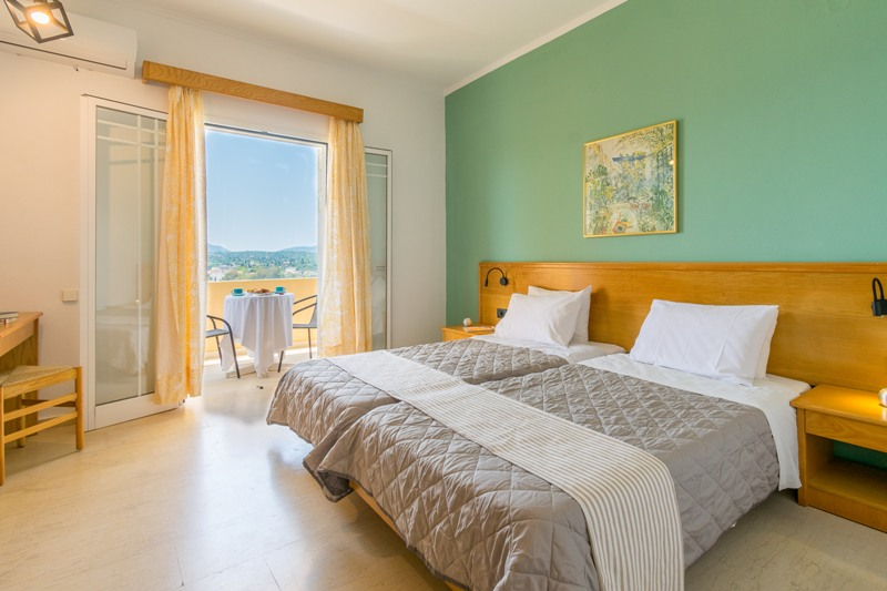 elite corfu twin room